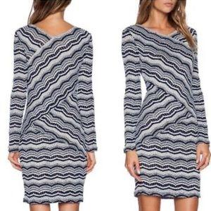 BCBGMAXAZRIA Melysa Long Sleeve Dress, Size XXS